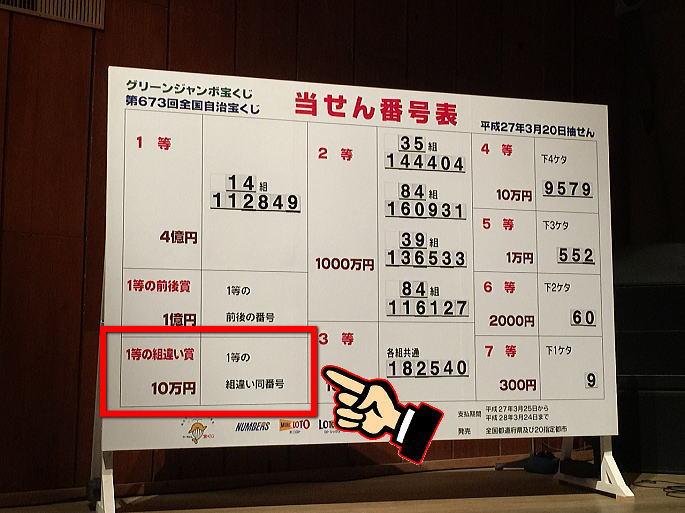 ミニ ドリーム 2020 ジャンボ ドリームジャンボ宝くじ当選番号